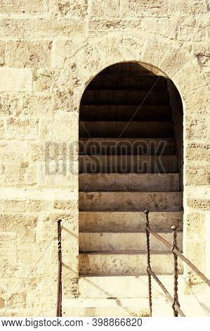 Spain Valencia Torre Serranos Gate