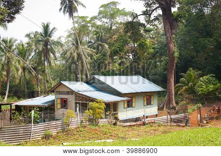Attap House On Pulau Ubin, Singapore