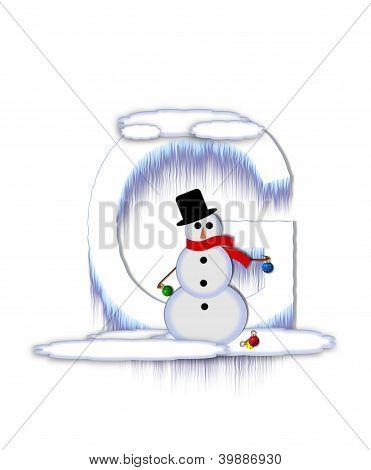 Alphabet Frosty G