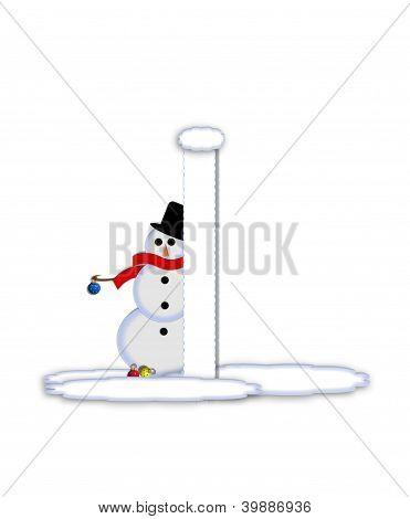 Alphabet Frosty I