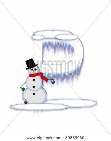 Alphabet Frosty P