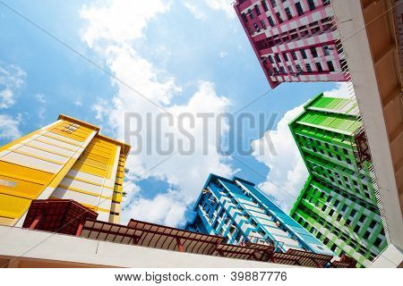 Colourful Singapore Hdb