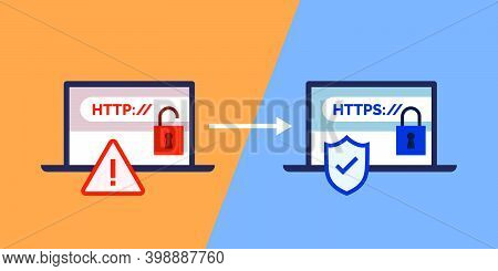 Http And Https Protocols, Safe Web Surfing And Data Encryption