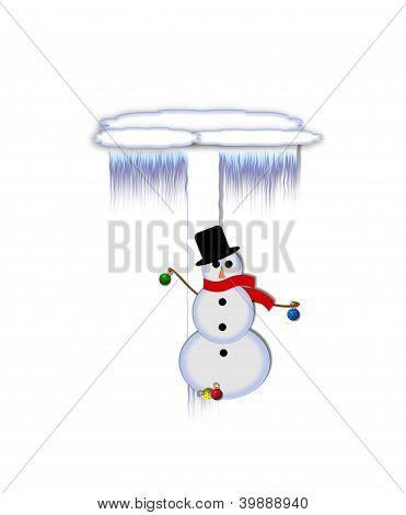 Alphabet Frosty T