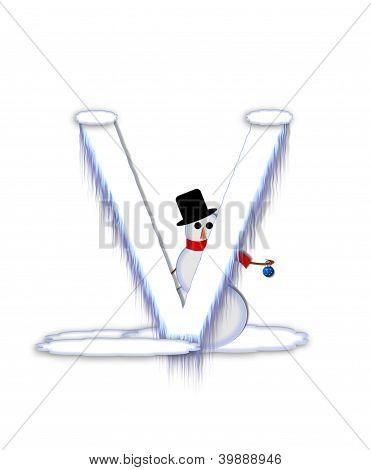 Alphabet Frosty V