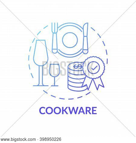 Cookware Concept Icon. Spending More For High Quality Product Idea Thin Line Illustration. Highest-p
