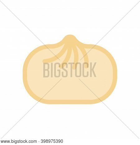 Baozi Isolated. Chinese Dumplings. Traditional Food In China. Vector Illustration