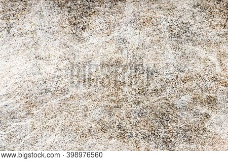 Grunge Metal Background. Dirty Metal Surface Texture. Industrial Grainy Backdrop. Scratched Iron She