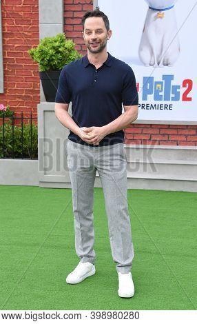 LOS ANGELES - JUN 02:  Nick Kroll {Object} arrives for 'The Secret Life Of Pets 2'  Premiere on June 02, 2019 0 in Westwood, CA