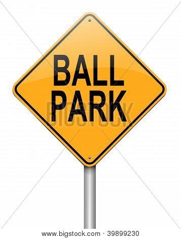 Ball Park Concept.