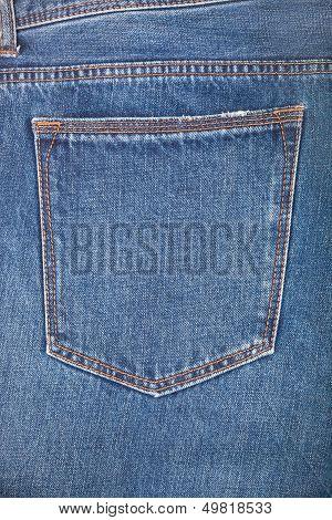 Empty Back Pocket