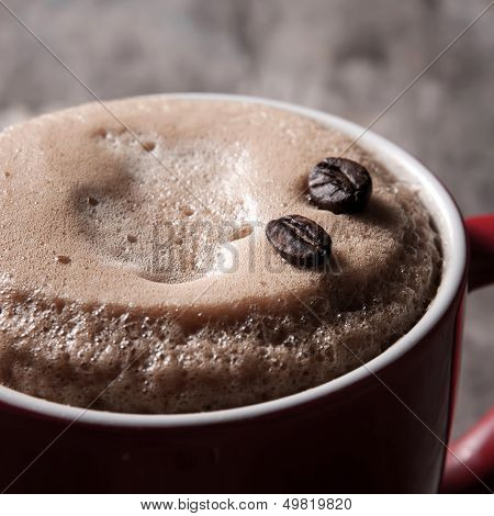 Cafe Au Lait In A Cup
