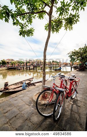 Bicycle in Hoi An.