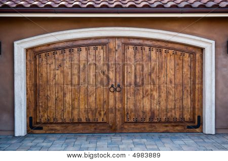Magnificent Carriage Doors