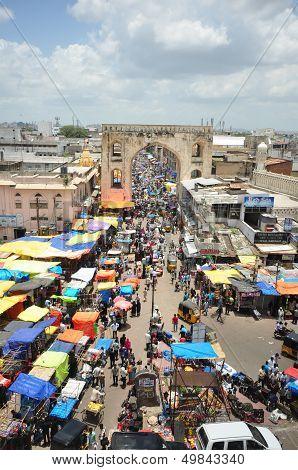 Charminar and Market