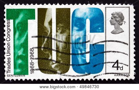 Postage Stamp Gb 1968 Letters Tuc And Faces