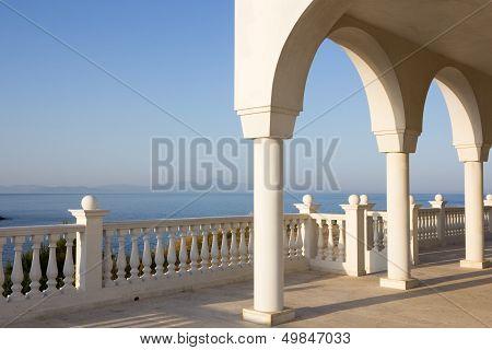 Balcony In Greece