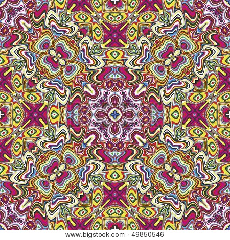Textile design from the Caribbean