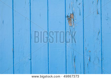 Old Blue Paint Panels