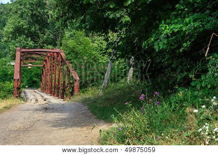 Rusty Abandoned Bridge