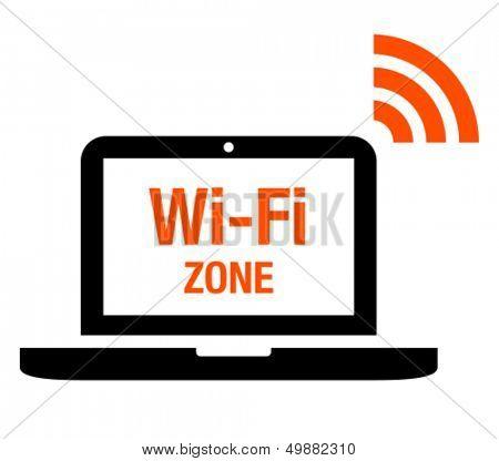 Wi-Fi zone icon
