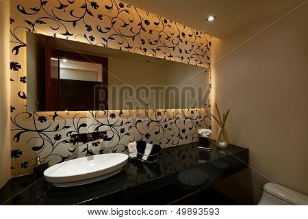 Interior design: Modern bathroom