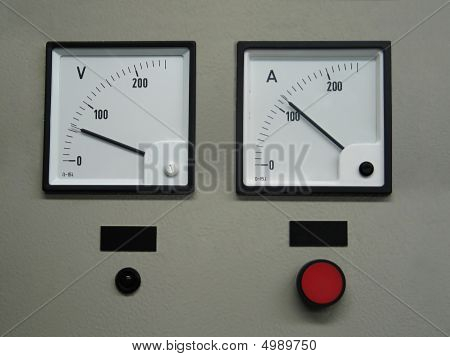 Voltmeter And Ampermeter