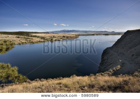 Missouri River Near Helena Montana
