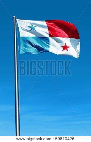 This is an illustration of flag Panama