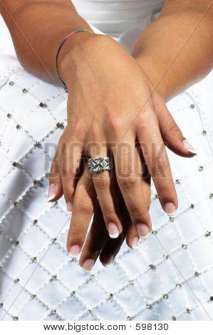 African Bride's Hands