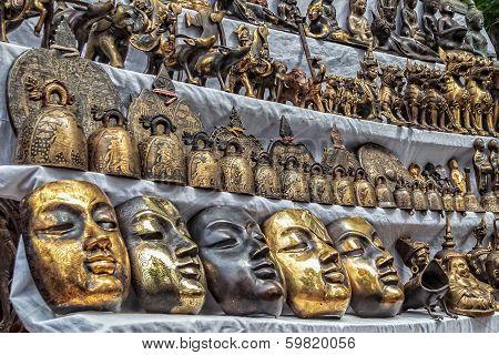 Antique Souvenir For Sale In Mandalay, Myanmar