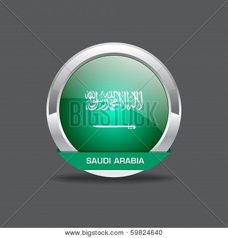 Saudi Arab Flag Vector Icon