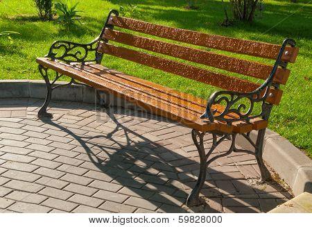 Wet Park Bench