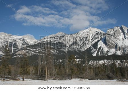 shape of the rocky mountains