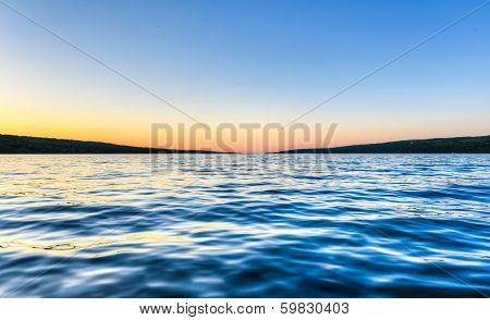 Seneca Lake At Dusk