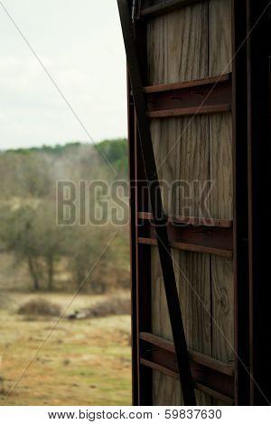 A loft door