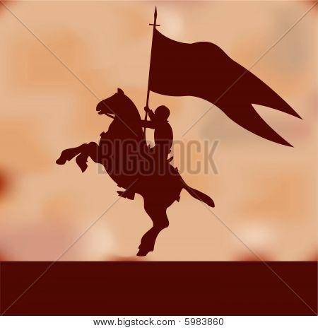 Banner Knight Background