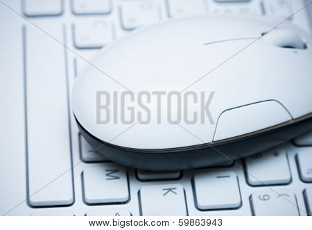 Mouse On  The Keyboard