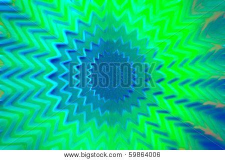 Star Green Background