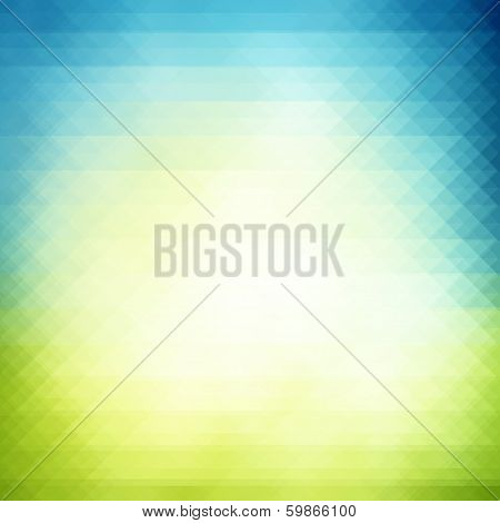 Spring Geometric  Background