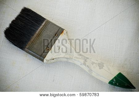 Used Paint Brush
