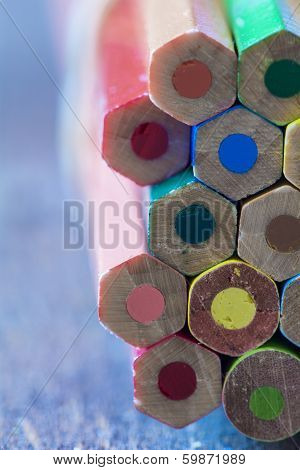 Background Of Colorful Pencils