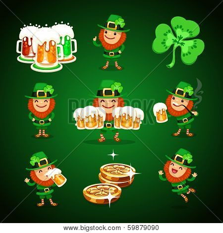 St. Patrick's Day's Set