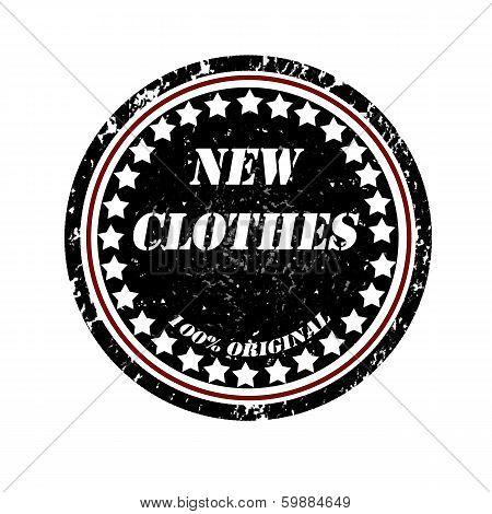 New Clothes Stamp