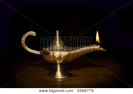 Ancient Brass Lamp