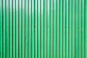pattern of green zinc wall for wallpaper and background poster