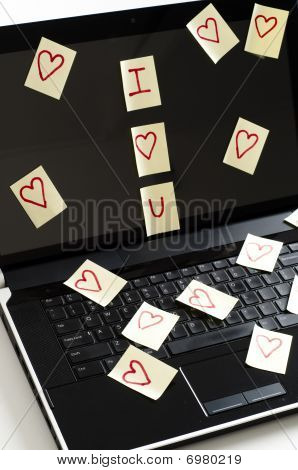 Romantic Post It Notes