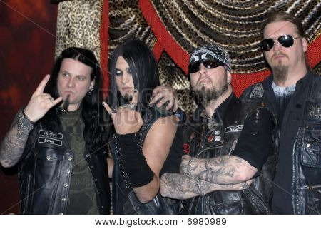 Dimmu Borgir with Weston Cage appearing.