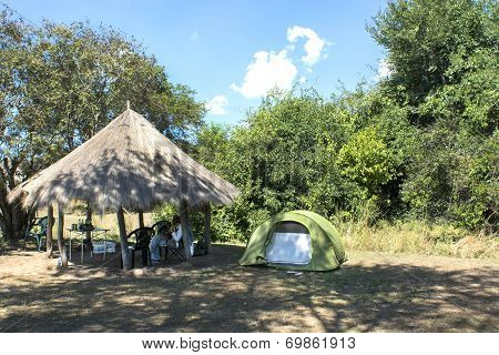 camping in Africa