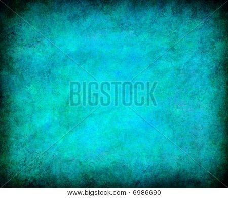 Abstract Turquoise Grunge Background